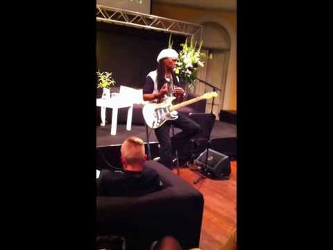 Chic's Nile Rodgers discusses Daft Punk's 'Get Lucky' at Amsterdam Dance Event.