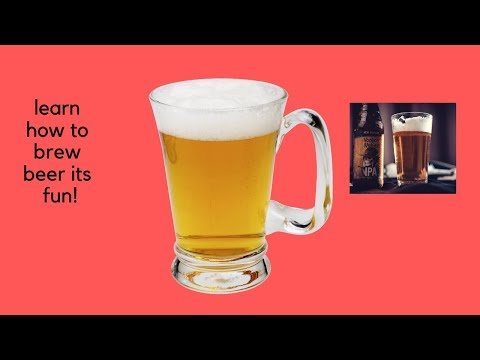 beer brewing learn- how to brew beer