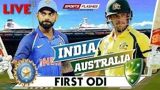 IND vs AUS 1st ODI Cricket Match Hindi commentary | SportsFlashes