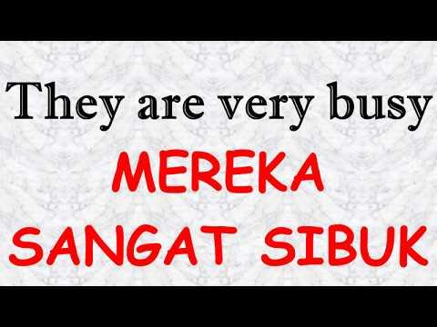 Learn Indonesian  about Phrases / Belajar Ungkapan dalam Bahasa Indonesia