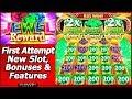 Jewel Reward Slot - Bonuses And Features In New Konami Game