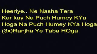 Official Lyrics of Race 3 - Heeriye Song   Meet Bros ft. Deep Money (HD Lyrics)