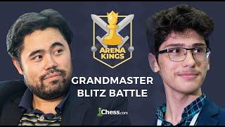 Grandmaster Blitz Battle: Nakamura vs Firouzja