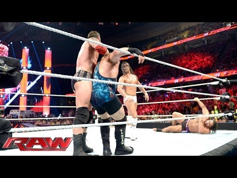 WWE World Heavyweight Championship Ladder Match Qualifying Battle Royal: Raw, June 16, 2014