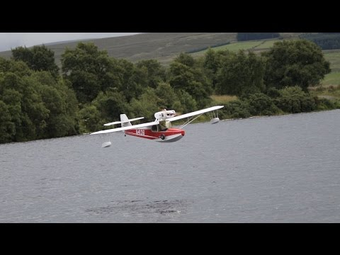 Anderson Kingfisher First Flight On Water
