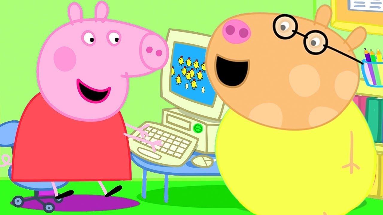 Peppa Pig en Español | Pequeño y grande | Pepa la cerdita