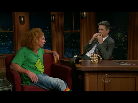 Late Late Show with Craig Ferguson 5/24/2011 Courteney Cox, Carrot Top