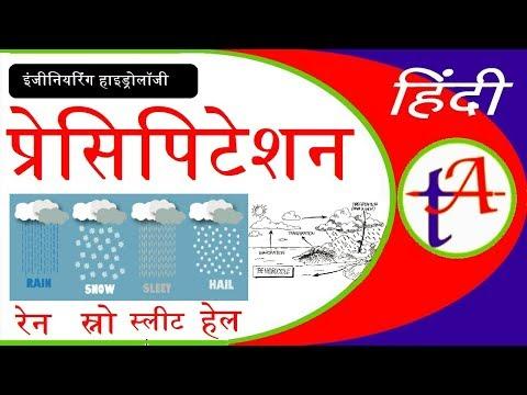 Precipitation means Rain, Drizzle, Snow, Glaze, Sleet and Hail Civil Engg - TA0090