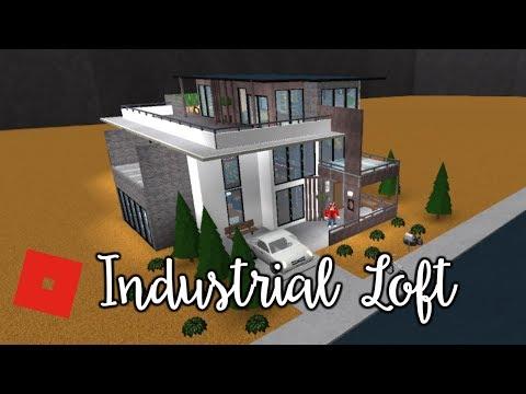 Welcome to Bloxburg: Industrial Loft | Speed Build
