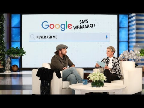 Jason Sudeikis Plays 'Google Says Whaaaat?!'