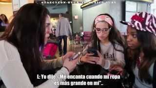 Fifth Harmony - Lauren 'The Grammar Queen' & Fan Gifts (Takeover Ep 25) Subtitulado [5H-MEXICO-SUBS]