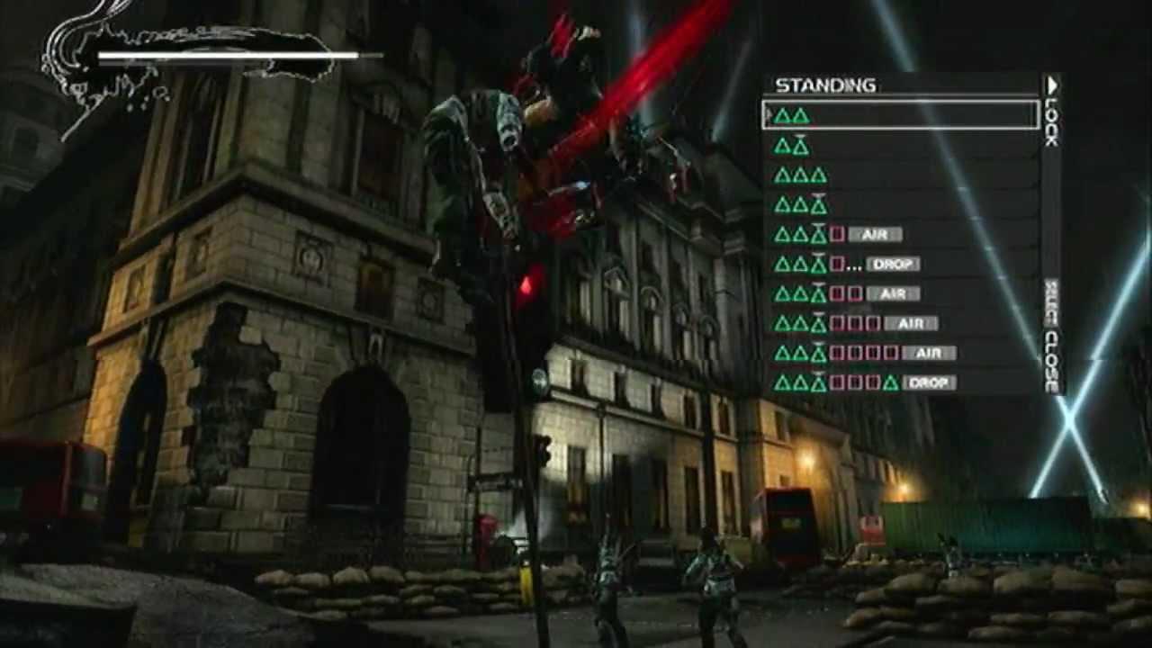 Ninja Gaiden 3 Falcon S Talons Claws Gameplay Youtube
