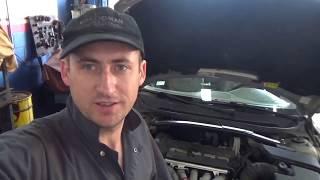 Замена грм на VOLVO V70 ; автосервис США