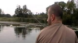 видео Рыбалка в Богуславе / Река Самара
