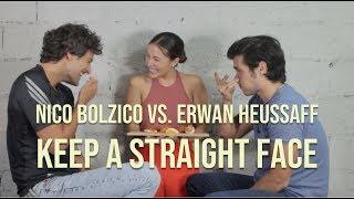 Keep A Straight Face Challenge | Nico Bolzico vs. Erwan Heussaff