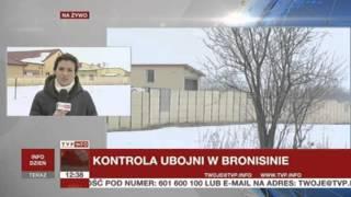 Mięso niewiadomego pochodzenia w ubojni, produkcja wstrzymana (TVP Info, 05.04.2013)