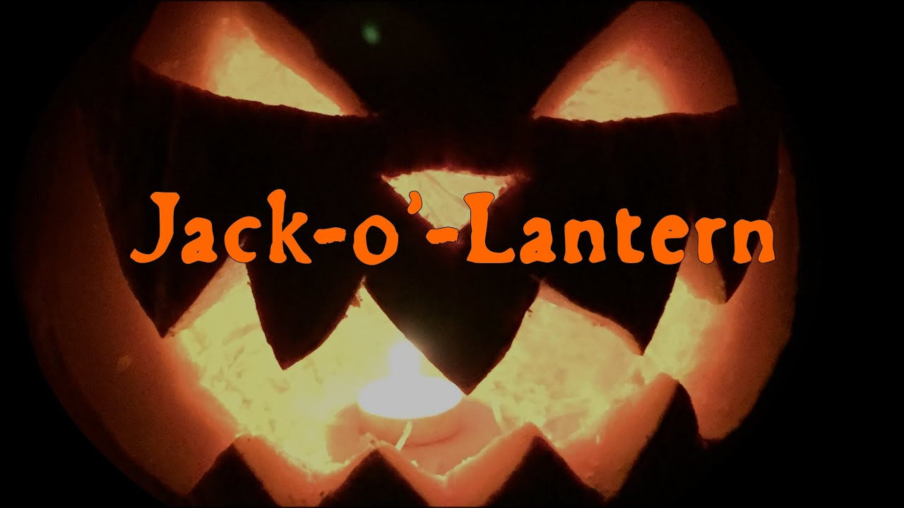 Jack O Lantern The History Of Halloween Youtube