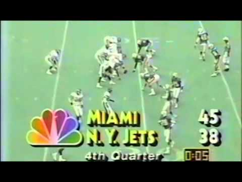 Wesley Walker Four Touchdowns Week 3 1986 Dolphins @ JETS