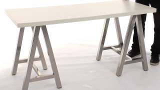 A-frame Desk Designed To Create A Comfortable Workspace | Pbteen
