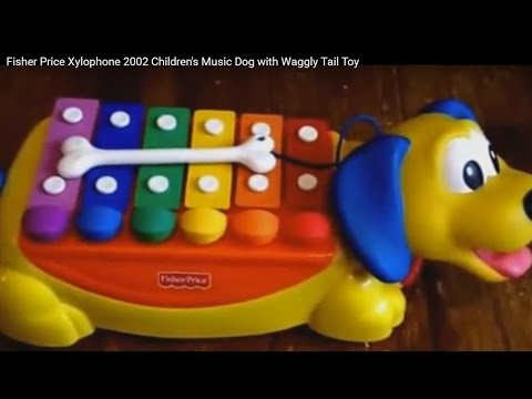Fisher Price Xylophone 2002 Children S Music Dog With