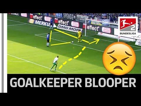 Goalkeeper Blooper - New Football Rule Leads To Unbelievable Goal