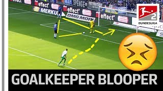 Goalkeeper Blooper - New Football Rule Leads to Unbelievable Goal