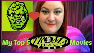 Vlog | My Top 5 Favourite Troma Movies!