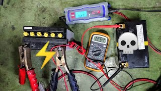 How to CHARGE BATTERY Car Moto Unloaded Impossible case -----