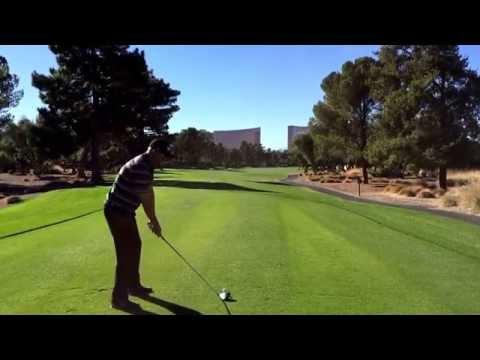 Ed fryatt UNLV Golf alumni Wynn/Encore drive par 5 hole 6 Alumni Match LVCC 11/8/15