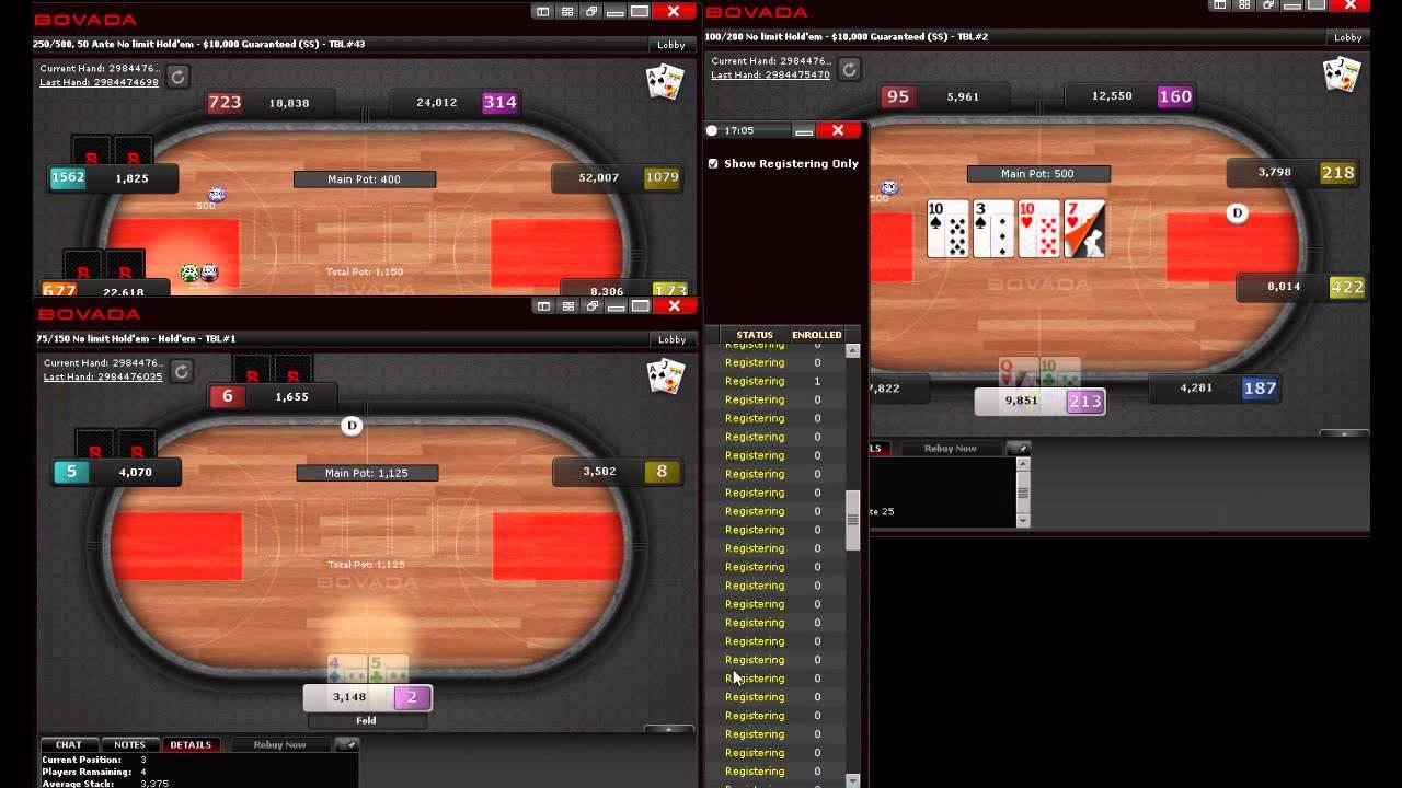 Bovada poker update non standard poker hands