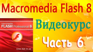 Видеоуроки по Flash Professional 8. Урок 6