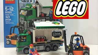 Lego City Cargo Truck Set 60020 Fun Toys Speed Build