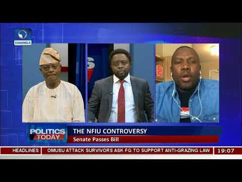 Senate Passes Nigeria Financial Intelligence Unit Bill  Politics Today 