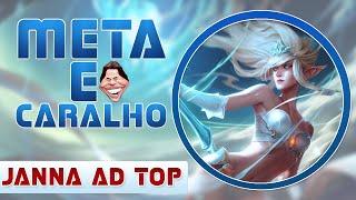 META É O CARALHO! #17 - JANNA AD TOP - VAI QUITAR?