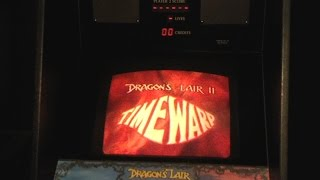 Dragon's Lair II: Time Warp - played on its intended platform