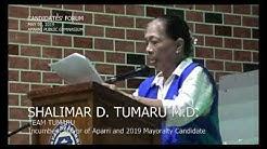 SHALIMAR TUMARU (Candidates' Forum 2019)