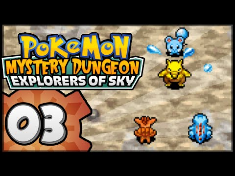 Pokémon Mystery Dungeon: Explorers of Sky - Episode 3 | Cree