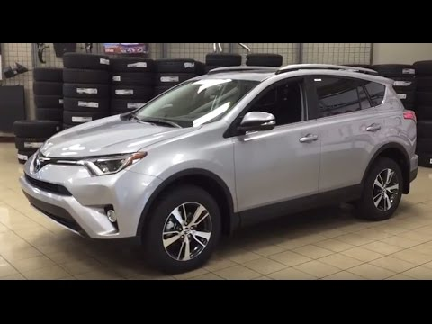 2017 toyota rav4 xle awd review youtube. Black Bedroom Furniture Sets. Home Design Ideas