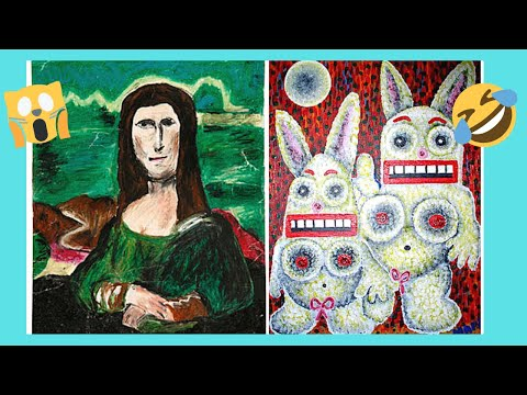 BOSTON: The unique MUSEUM OF BAD ART and its UGLY ART (USA)