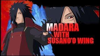 【MOD NSUNI】Mod Texture Awaken Madara Uchiha With Susano'o Wing | PPSSPP | VT#04 !