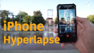 How to do a iPhone Hyperlapse - Tutorial