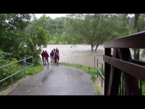 Toronto Flooding July 8th, 2013 - Etobicoke (West Deane Park)