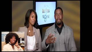 Tyler perry's for better or worse stars on own network chate with valder