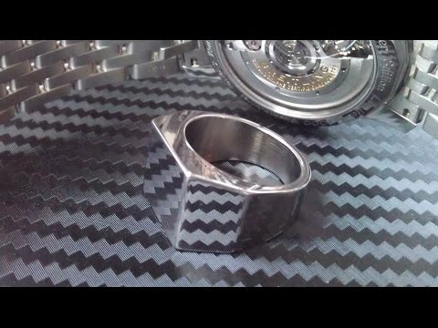 How to make a Ring out of Stainless Steel