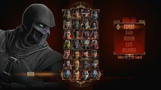 Mortal Kombat 9 - Expert Arcade Ladder Noob Saibot3 RoundsNo Losses
