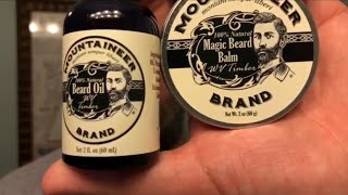 Mountaineer Brand Beard Oil, Balm, Wash Review - West Virginia Timber Scent