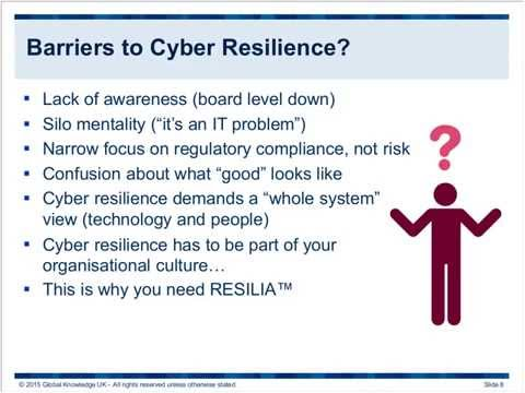 Free Webinar: Resilia – Spearheading the Best Practice crusade for Cyber Resilience