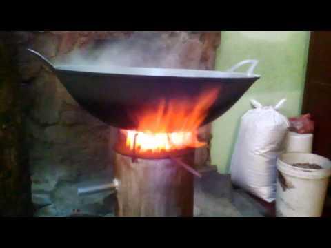 Wood pellet syn gas