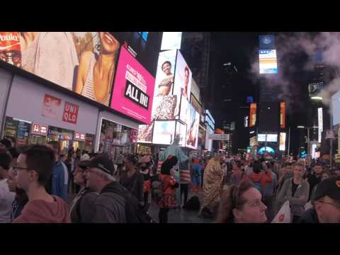 New York City Nightlife UHD Video
