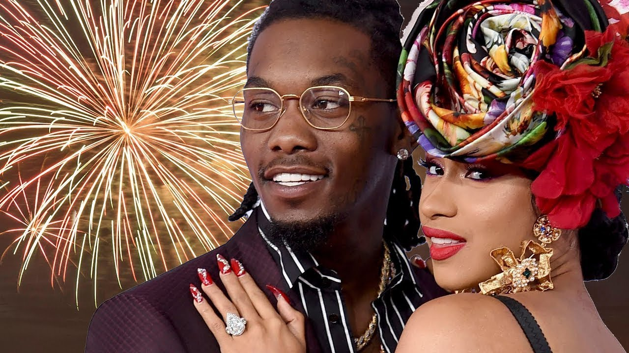 Cardi B Says Offset Has Picked Their Baby S Name: Cardi B & Offset Won't Celebrate New Years Together